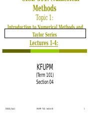 CISE301-Topic1-T101-Sec04.ppt