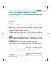 Physical activity behavior in adults with DM.pdf