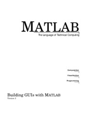 (Ebook) Engineering - Building Gui With Matlab