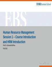 HRM Session 1 - Introductin to HRM.ppt