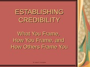 AOF8 EstablishingCredibility