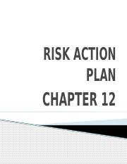 12. RISK ACTION PLAN - CHAPTER 12.pptx