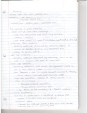 reliability notes