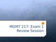 Exam 1 Review-2