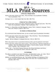 MLA Formatting and Citation Guide from SHSU(1)