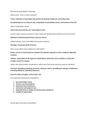 Anatomy Test 1 Study Guide-Histology.docx