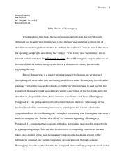 A Farewell to Arms Essay.docx
