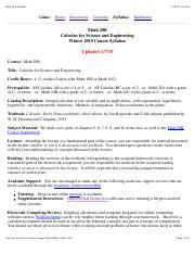 Math 20B Winter 2017 - 2017 1 17 Math 20B Winter 2017 UCSD