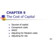 COST-OF-CAPITAL