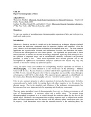 Lab report sn1