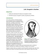 Lab Avogadro's Number