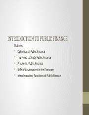 INTRODUCTION TO PUBLIC FINANCE.pptx