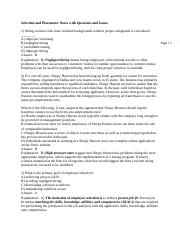 ! MAN 316 Chapter 06  Spring 2015 Review Notes w Questions ,Concepts and Issues