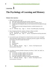 Gluck--Learning and Memory 2e