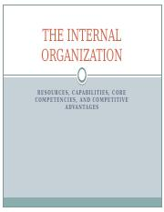 Ch. 3 THE INTERNAL ORGANIZATION.pptx