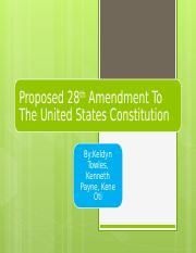 keldyn 28 amendment.pptx