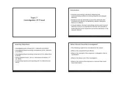 Student Handout_Topic 7_Investigation of Fraud_updated11112013