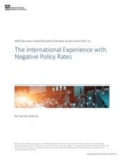negative policy rates