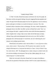 edward said states essay