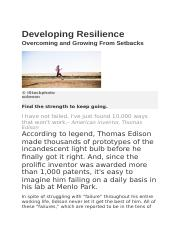 Developing Resilience.docx