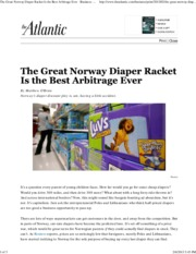 The Great Norway Diaper Racket Is the Best Arbitrage Ever - Business - The Atlantic.pdf