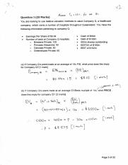 finance principles past year exam paper (2014)
