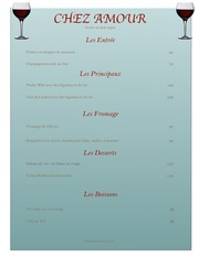 Create a French Menu Project