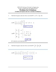 ENGI 4430 Problem Set 4 Solutions