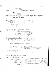 Math 455 Homework 8 With Answers