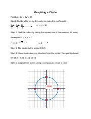 Graphing a Circle.docx
