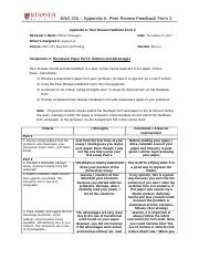 ENG215_Appendix A_Peer Review Feedback Form 2.docx
