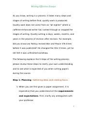101 Notes on Essay Writing (1)