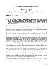 Topic 5 Solutions - Chapter 6 Income Tax Effect.pdf
