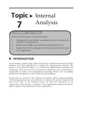 11. BBPS 4103  Topic 7