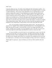 Essay On Racial Profiling - Words | Bartleby