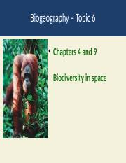 Topic 6 biogoegraphy.pptx