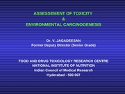 Assessment of Toxicity & Environment Carcinogenises