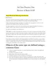 Practice One Review of Basic OOP.pdf