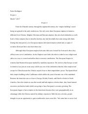 Project2 essay