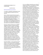 French 256_Lecture Notes on L'Existentialisme Est Un Humanisme