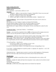 FIN 3055 Exam 1 Outline