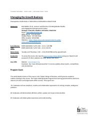 Managing Growth of Business Syllabus.docx