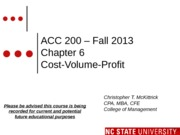 #10 CH6 MOODLE ACC200 C-V-P Fall 2013 (1)