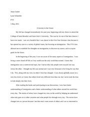 fys- past present future essay