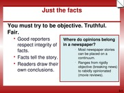 JOURNALISM WRITING BASICS WEEK 3 PPTS