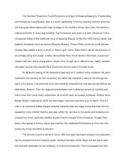 Sleeping Beauty Play Review.docx