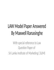 lawmodelpaperanswered-130606012453-phpapp01.pptx