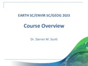 01 - Course Overview (2GI3)