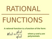ENTREP411-Rational Functions-PPT-SEM2-SY2012-2013