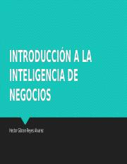 Business Intelligence 1